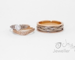 Unique Wedding Rings from Hobart Jewellery shop Jai Hay Jeweller