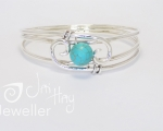 Turquoise bangle