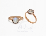 Moonstone Ring from Hobart Jewellery shop Jai Hay Jeweller