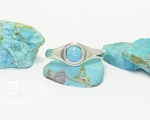 Turquoise Ring from Hobart Jewellery shop Jai Hay Jeweller