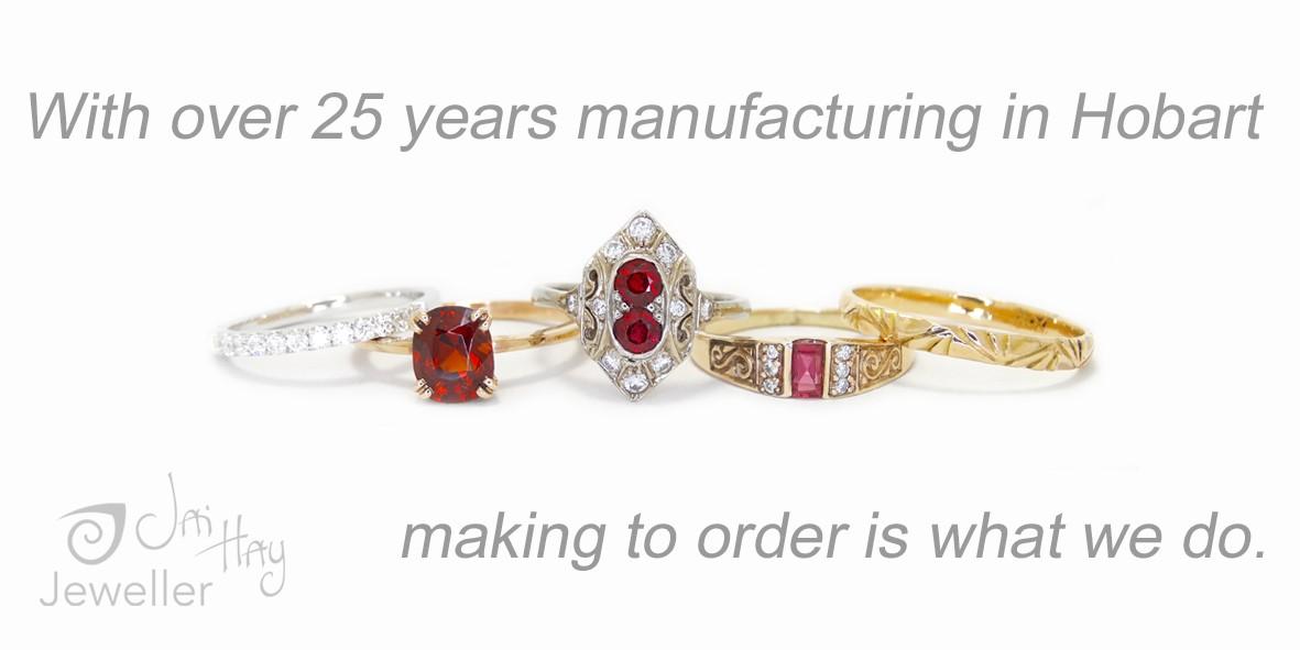 Bespoke Hobart Jewellery